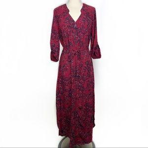Stitch Fix l 41 Hawthorn Sarrah Maxi Shirt Dress